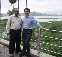 Master Soon at Powai Lake, Mumbai, Sept 2009