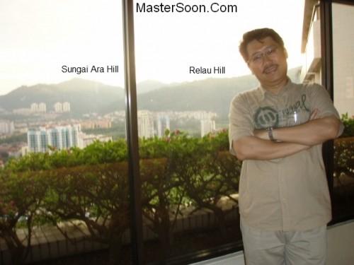 Penang Feng Shui - Master Soon 槟城风水权威孙锦皇摄于槟岛东南区