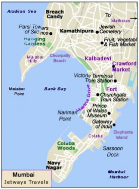SW water mouth of Mumbai