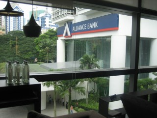 The Alliance Bank is at XX sector of this showroom, how do you allocate this and make sue of this? How to take the money from the bank so that she could become millionaire?