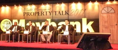 Maybank Property Talk 2011. Master Soon