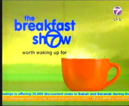 Master Soon Will Be in The Breakfast Show NTV7 on 2 Feb 2011, 9am- 10am