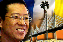 林冠英于2008年3月被选为新人槟州首席部长 Lim Guan Eng was elected as new Penang State Chief Minister in March 2008