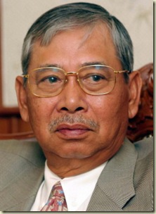 Megat Junid Passed Away in 24 January 2008
