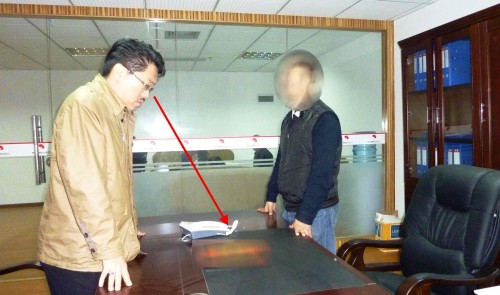 Master Soon Audited Office Feng Shui In China 孙老师为中国客户勘查办公楼风水