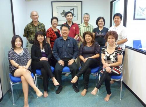Insightful and Sucessful Yijing Trainning Course, 02 April 2011. 富有深度的易经预测课程,成功的于2011年4月2日成功的举办。