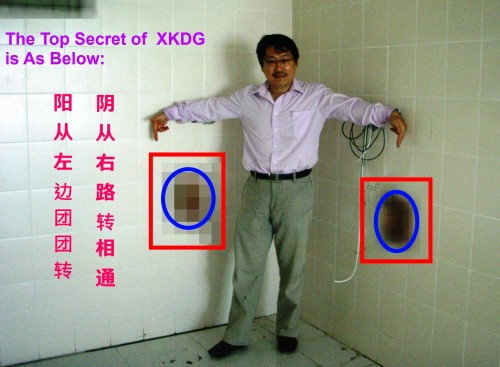 阳从左边团团转,阴从右路转相通  XKDG of Master Soon Version