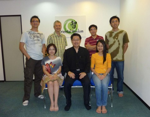 Yijing Module One & Two - 24, 25 & 26 June 2011 - Wai Loon, Shirley,William, Master Soon, Kok Tiong, Rachel and Bryan.
