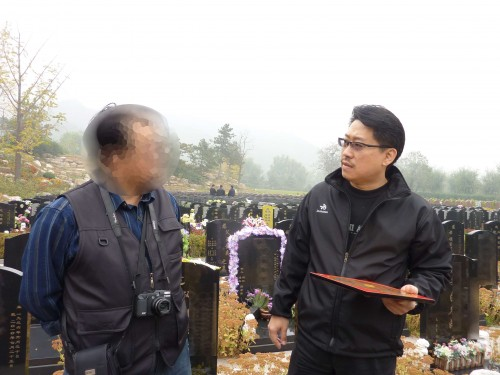 Tomb Feng Shui in Beijing by Master Soon in Oct 2011.