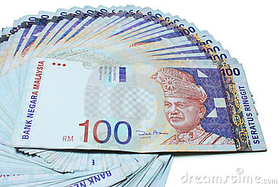 Keep cash note of RM1, RM5, RM10, RM50 & RM100 in your wallet.
