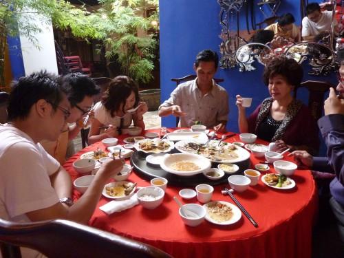 Penang Chinese Style New Year Reunion.