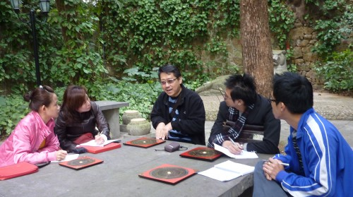 we enjoyed the chilling climate in the hill while having our practical feng shui study. The most important point of this site visit is to get nearer to the energy of mountain with good feng shui.