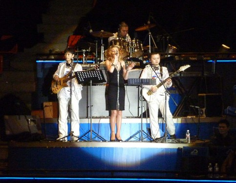 Russian Singer In An Imperialistic Chinese Cultural Show During My China Visit Feb 2012