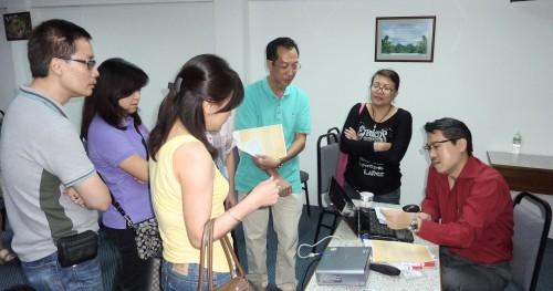 24 June12 Workshop on Name card+Mobile number reading(B)