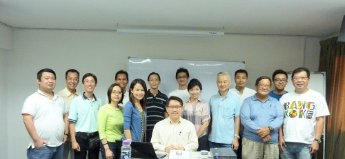 Daoism Feng Shui Workshop 3 on 28 July 2012.