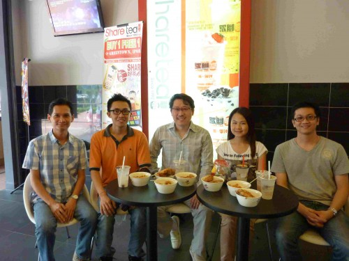 Ipoh feng shui 02 Oct 2012. Allex, Bryan, Master Soon, Rachel and WLoon