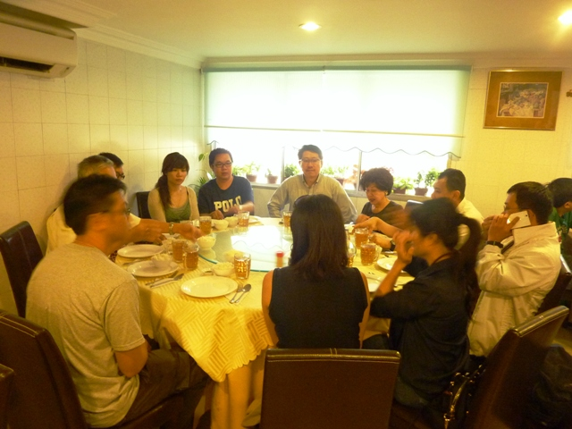 Feng Shui Members Gathering on 18 May 2013 after China Trip- May 2013.