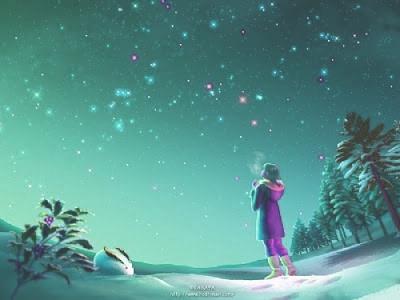 North Pole Stars 北斗七星