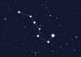 Big Dipper. The Big Dipper is a group of 7 stars, easily recognizable in the night sky. It has been used as a celestial tool to predict the future.