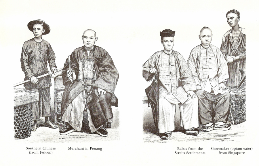 Malaysian Chinese in 1880 during their glorious era