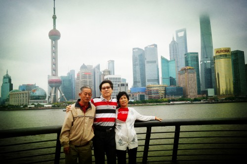 Master Soon and Parents in China May-June 2014