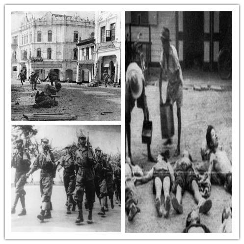 二战时期日军残杀马来亚华人