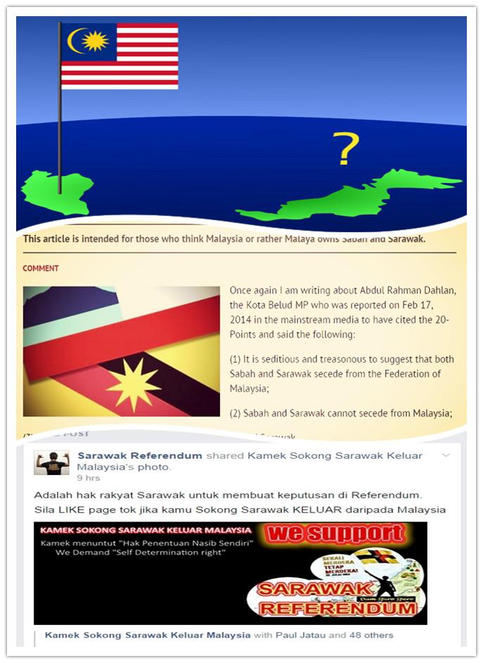 Sabah & Sarawak, The Jia Wu East Horse to Malaysia
