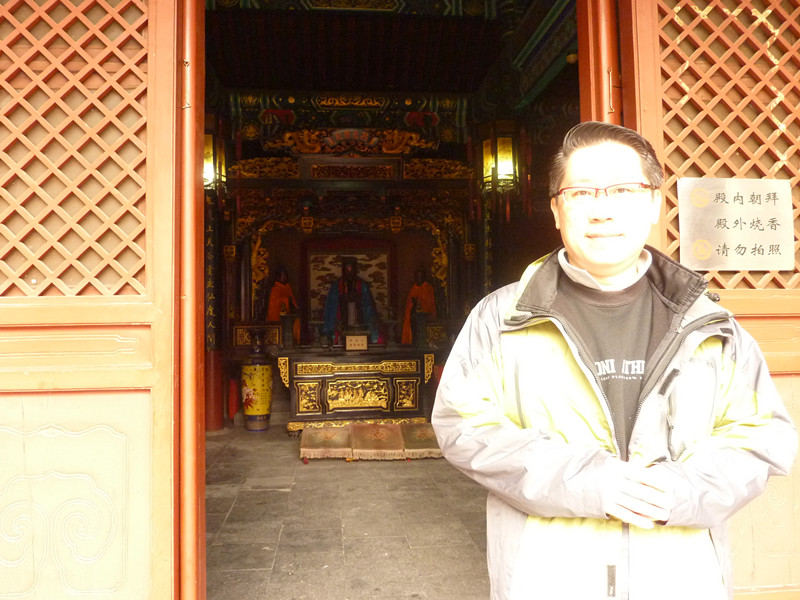 Master Soon @ 玉皇庙 ( Sakra  Deva Temple)