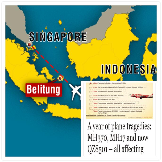 QZ8501 & Year 2015
