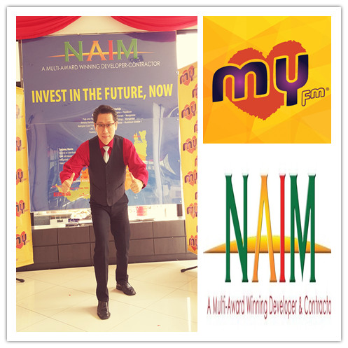 MY FM CNY Open House 2016 with NAIM in Kuching, Sarawak