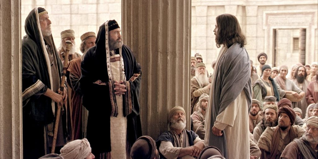 Jesus debated Jewish Scholars in the Synagogue