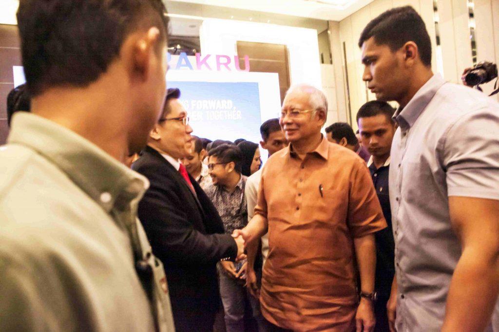 DS Najib & Master Soon on 29 March 2018 NEGARAKRU
