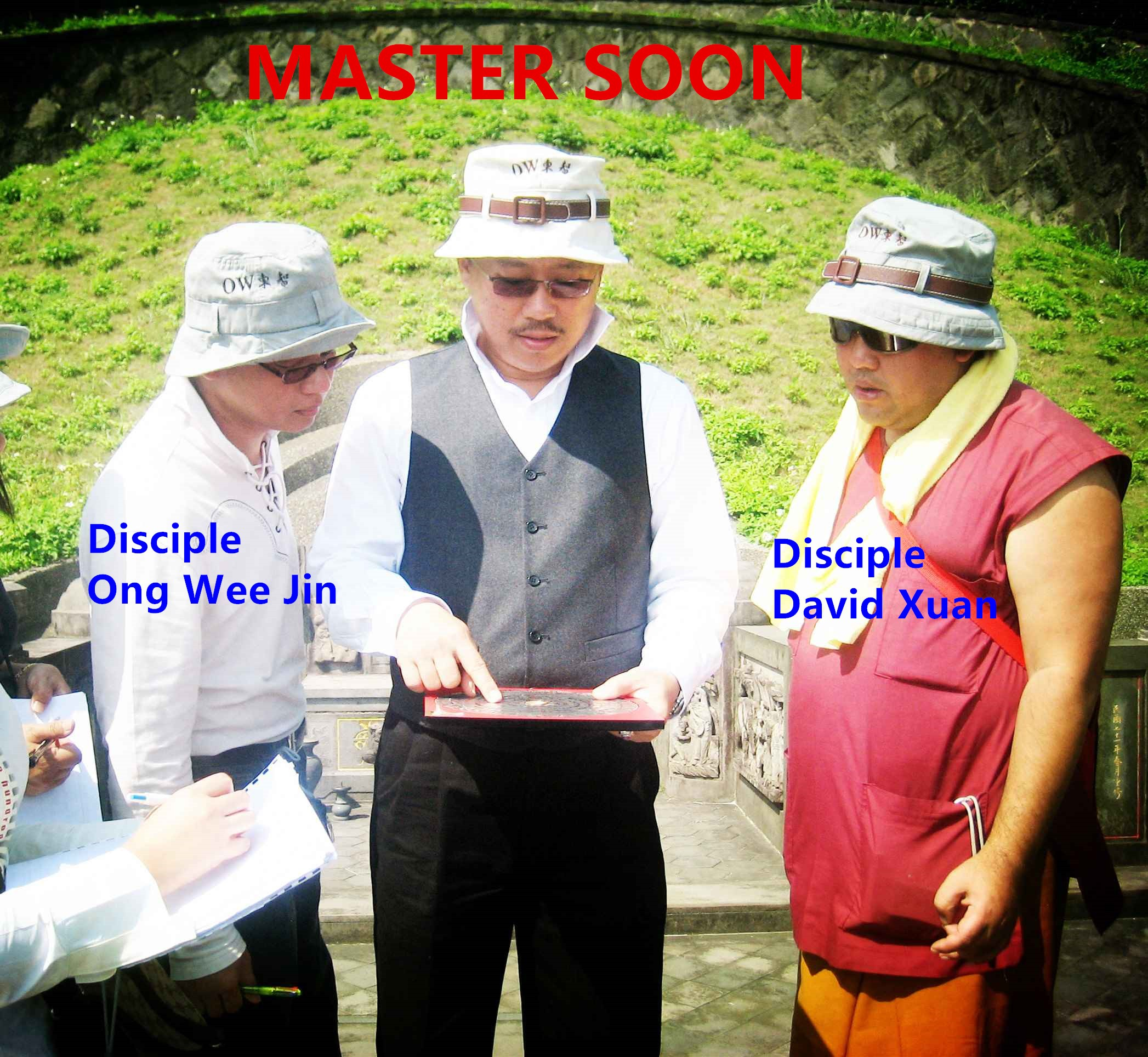 Master Soon & Disciple David Xuan & Ong Wee Jin