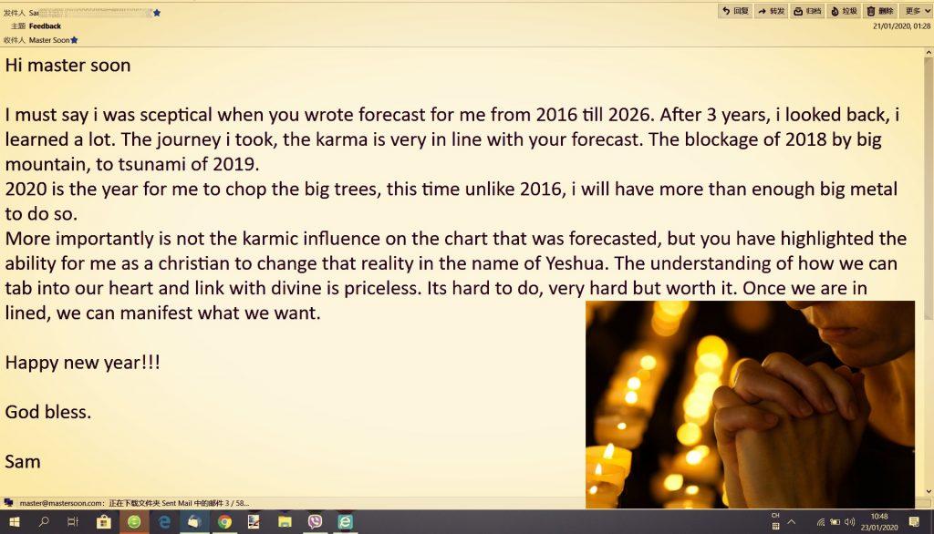 Sam's Testimonial 2020