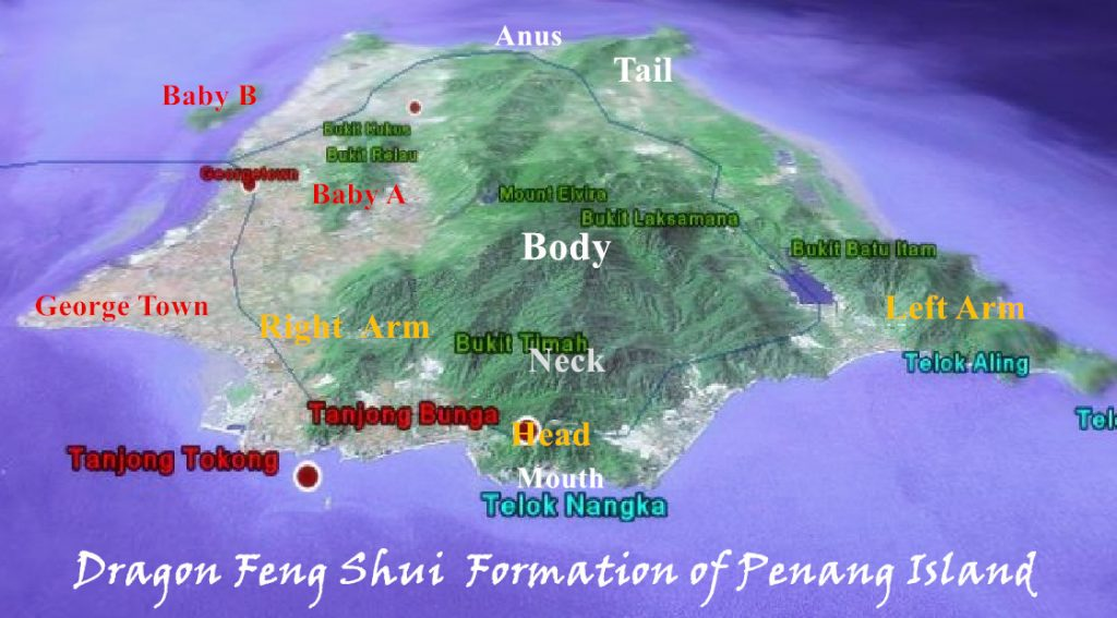 Penang Dragon Formation Feng Shui