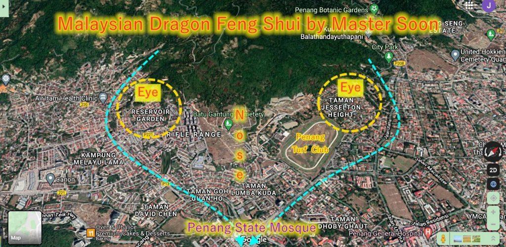 Penang State Mosque Feng Shui
