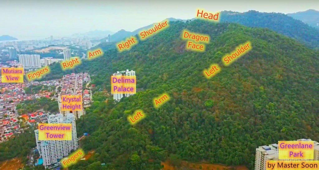 Island Glades Dragon Feng Shui Formation