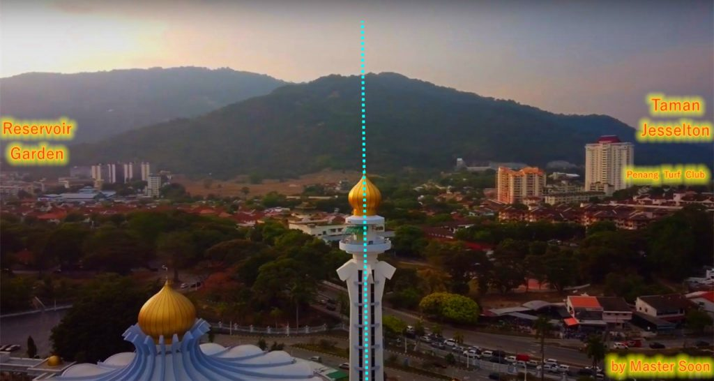 Penang State Mosque is located in a Dragon Formation