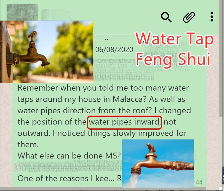 Water Tap Feng Shui